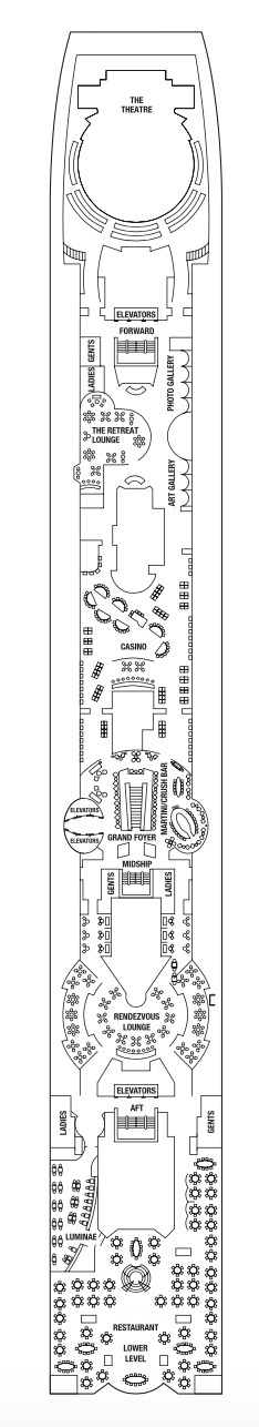 Deck 4 - Promenade Deck
