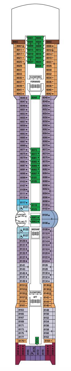 Deck 8 - Panorama Deck