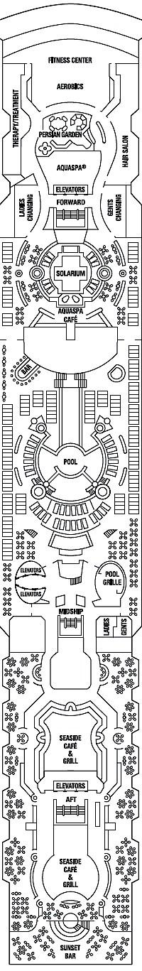 Deck 10 - Resort Deck