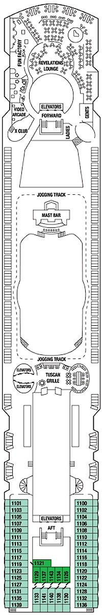 Deck 11 - Sunrise Deck
