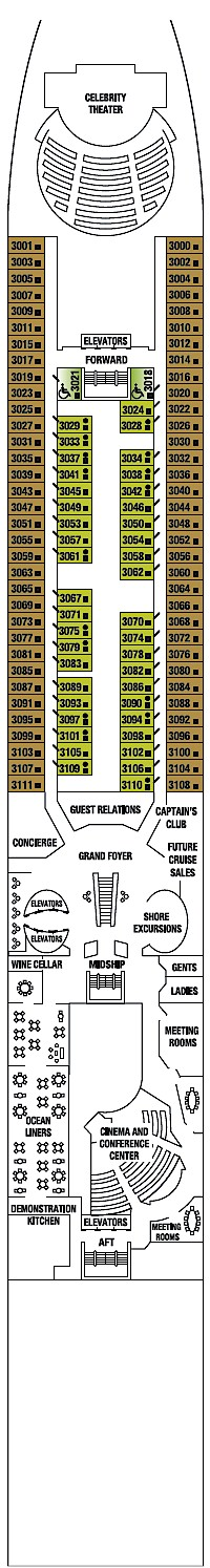 Deck 3 - Plaza Deck