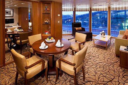Celebrity Suite with Veranda
