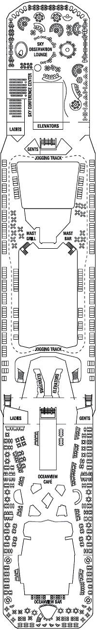 Deck 14 - Lido Deck