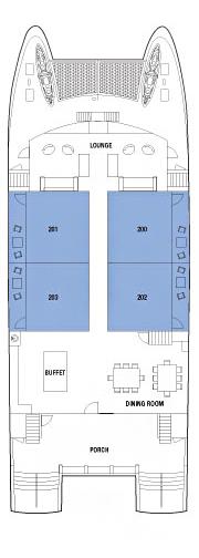 Deck 2 - Main Deck