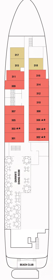 Deck 3 - Marina Deck