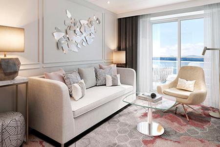 Seabreeze Penthouse Suite with Verandah